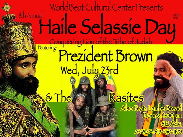 Haile Selassie la historia